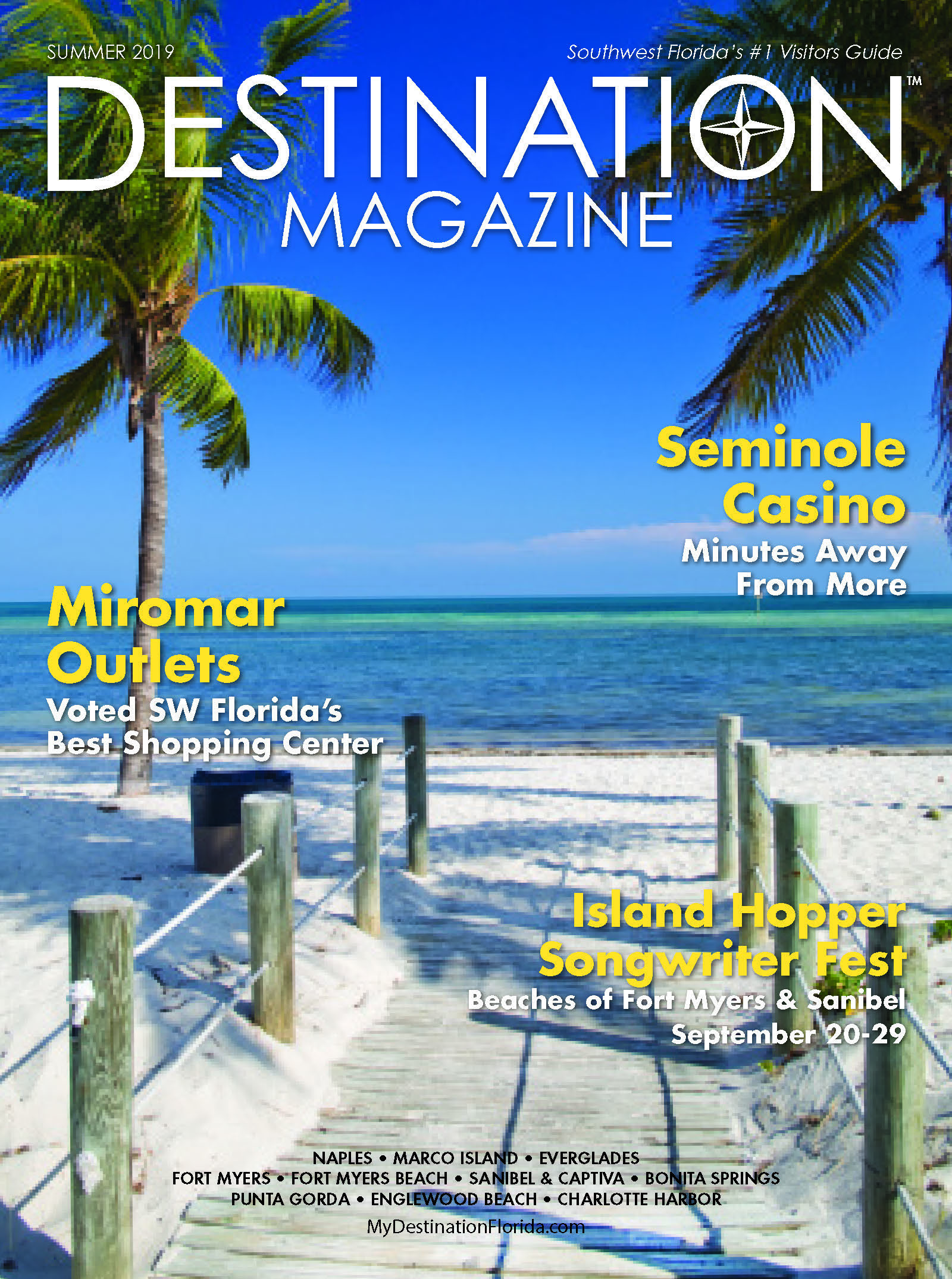 DESTINATION SWFL Front Cover Summer 2019