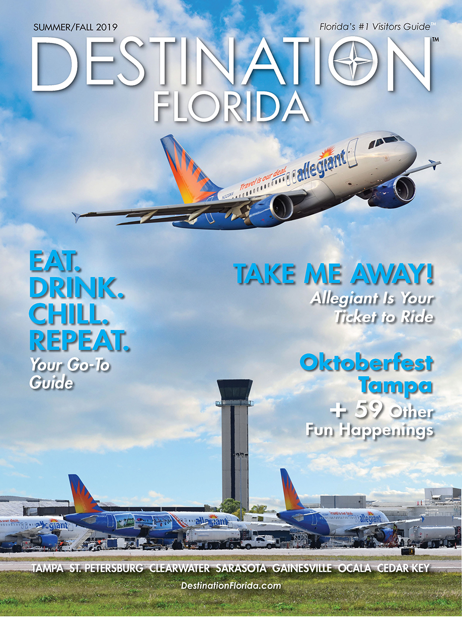 Destination Tampa cover summer 19