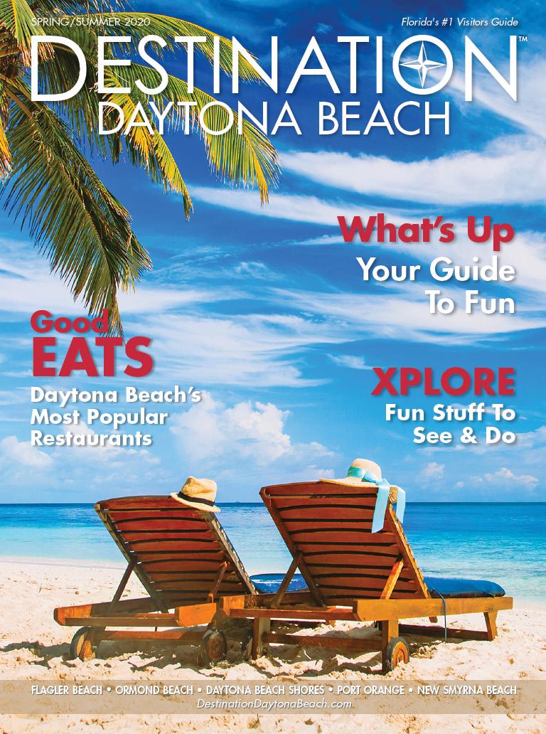 Daytona Beach Spring 2020 cover